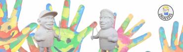 Nuevo producto: Muñecos Para Pintar